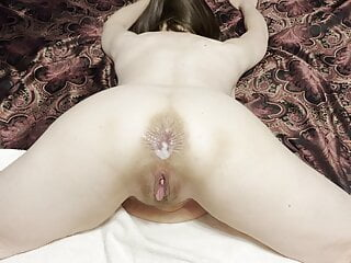 Mature wife loves Anal! Struggling with fat cock at first
