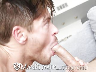 ManRoyale Valentines day strawberry foreplay fuck