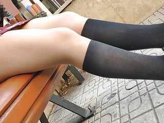 turkish red mini skirt  sexy tan pantyhose and upskirtHD Sex Videos