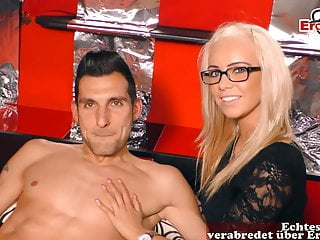 German casting first time with girlfriend...