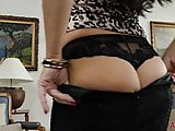 Julia Dranac Sexy MILF in Stockings and Heels Playing