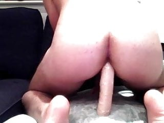 21 yo hung huge dildo...