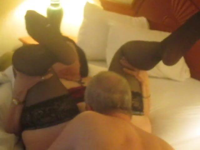 Stranger Licks My Wifes Pussy