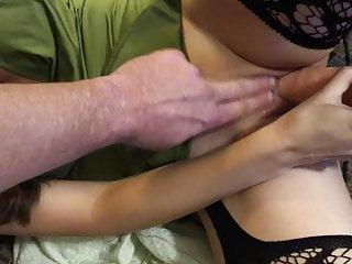 Lil Christi Slut Coaching For big black cock DP Gangbang
