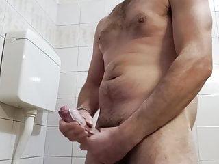 Having fun masturbating...