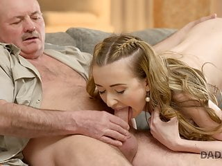 DADDY4K girlfriend acquainted man gets with Old son's