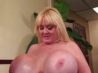 It has huge tits...