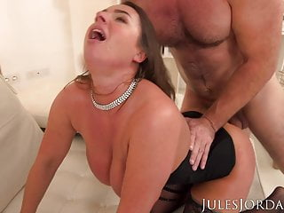 suzi smothers manuel with her giant tits...