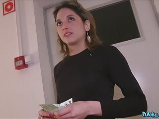 Public Agent, French Babe in Glasses Fucked on Public Stairs