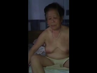 Chinese granny nude...