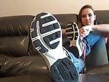 Sasha white socks