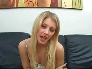 Cute white girl...