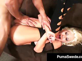 Sweden's #1 PornStar Puma Swede Gets Pounded By A Hard Cock!