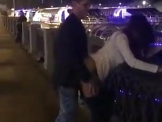 Cuckold films wife getting fucked in public