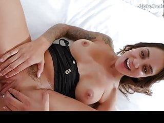 Horny busty MILF lets me cum inside her wet pussy. Creampie