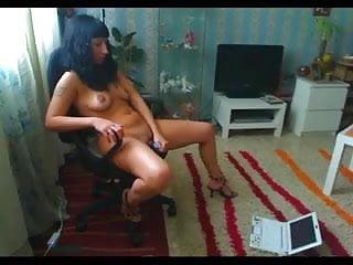 Masturbation watching porn movie