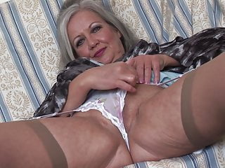 show upskirt and striptease babe Busty mature April