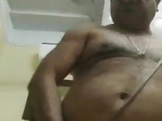 Indian hairy horny daddy showtime...