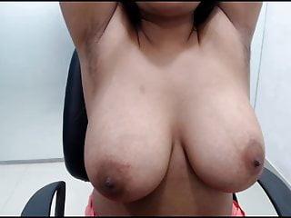 Hairy armpits big boob aunt teasing...