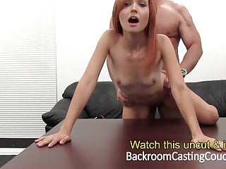 Hot redhead and creampie...