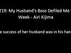 JUL-291: My Husband's Boss Defiled Me for a Week - Airi Kijima