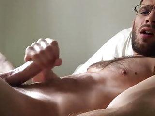 Hot Guy Self Cum Facial Session