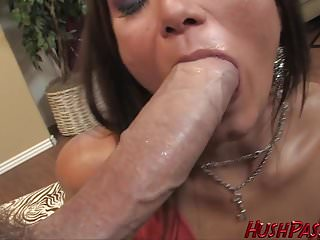 Cece takes biggest white cock...