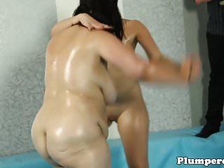 Thick babe wrestling plumper bbw before bj...