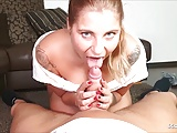 Cute Ex Girlfriend Blow and Ride and let Cum Inside German
