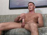 Muscular troop Craig Cameron wanks