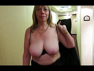 Granny reba hotel hallway...