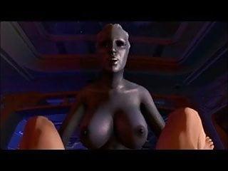 POV Liara fucking me (futanari) Effect) T'soni 3D (Mass