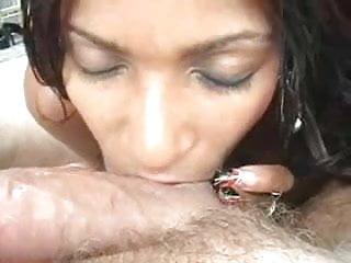 Busty ebony goddess pov bj BB