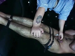 Slapping Orgasm Cock Forced and