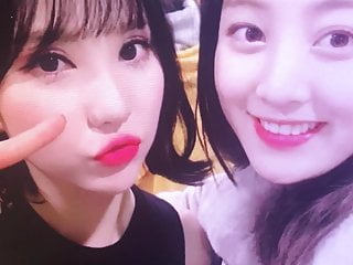 GFriend Twice collab – Eunha x Jihyo cum tribute