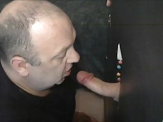 Sucking gloryhole...