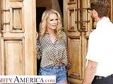 Naughty America - Rachael Cavalli fucks a virgin friend of h