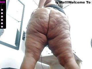 Cellulite queen Aranza is a flabby BBW Latina, sexy!!