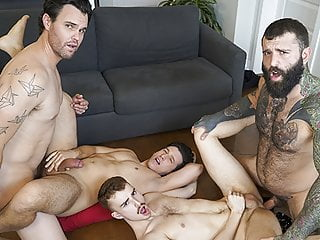 Ryan Jacobs And Collin Lust Get Naughty With Their Stepdads