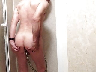 Shower enema...