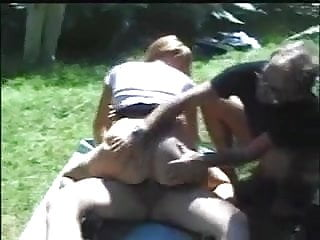 wife banged by strangers in woods