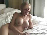 Amateur GILF Homemade Sex Tape
