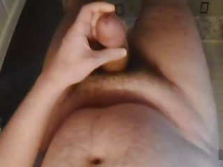 off and sink in bathroom 40's cum jerks man