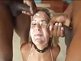 Another blonde getting bukkaked!