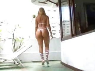 Fat ass brazilian juliana gets a good fuck...