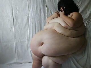 Big Ass Chubby Ssbbw video: SSBBW belly roped