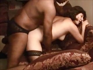 Shy white takes her first bbc and creampie...
