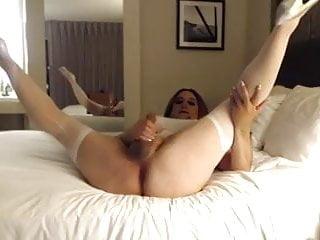Charli star stroking to porn...