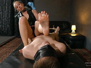 Clean the anette forced male orgasm...