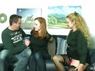 German mature teach hairy ginger teen and boyfriend...